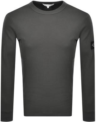 Calvin Klein Jeans Monogram T Shirt Grey