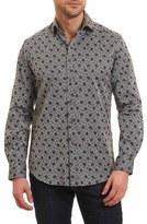 Robert Graham Goran Regular Fit Print Sport Shirt