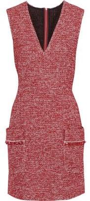 Philosophy di Lorenzo Serafini Cotton-blend Tweed Mini Dress