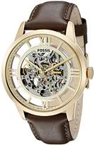 Fossil Men's ME3043 Townsman Analog Display Japanese Automatic Brown Watch