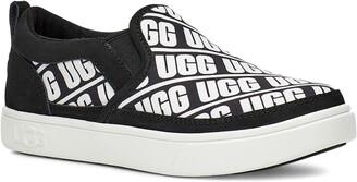 UGG Caplan Logo Slip-On Sneaker