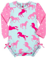 Hatley Ponies and Polka Dots Rash Guard