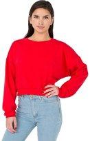 American Apparel 5336 Women's Fleece Cropped Sweatshirt
