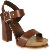 Tod's Buckled Platform Sandals