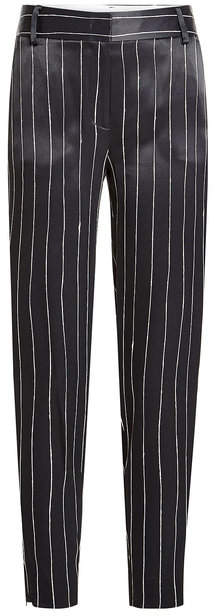 DKNY Striped Satin Pants