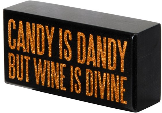 Primitives by Kathy 'Candy Is Dandy' Box Sign
