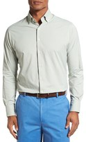 Peter Millar Men's Regular Fit Check Sport Shirt