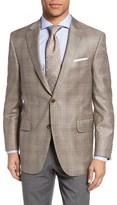 Peter Millar Men's Classic Fit Plaid Wool Sport Coat