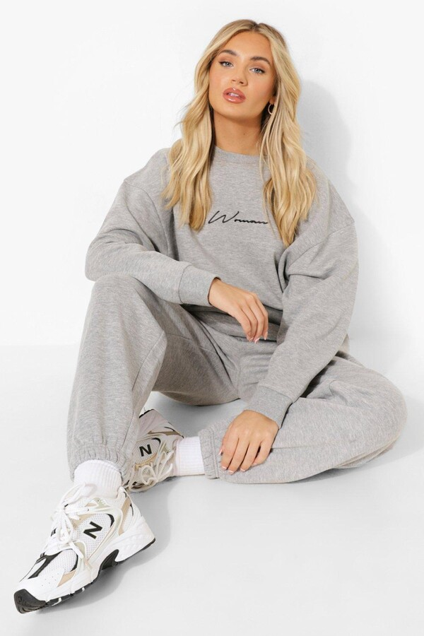 Thumbnail for your product : boohoo Basic Oversized Joggers