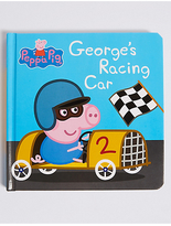 Marks and Spencer Peppa PigTM George's Racing Car Book