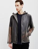 Hunter Vinyl Windcheater Jacket Grey