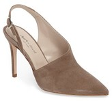 Charles David Women's Sass Asymmetrical Slingback Pump