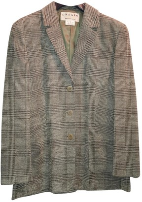 Jaeger Green Wool Jacket for Women