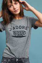 Sol Angeles J'Adore Coffee Graphic Tee