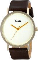 Roots Women's 1R-LF133WH2C Muskoka 38 Analog Display Japanese Quartz Brown Watch