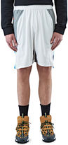 Adidas By Kolor Men's Climachill Hybrid Shorts In White And Grey