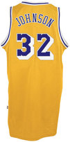 adidas Men's Magic Johnson Los Angeles Lakers Retired Player Swingman Jersey
