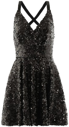 Dolce & Gabbana Sequinned minidress