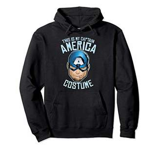 Marvel Captain America This Is My Costume Pullover Hoodie