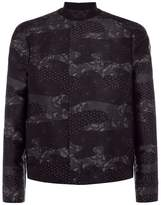 Armani Woven Collared Bomber Jacket