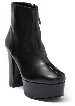 Schutz Ravenaa Leather Platform Boot