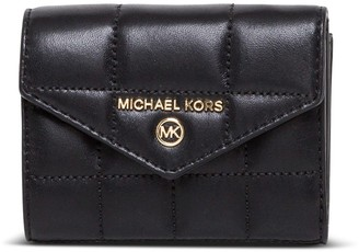 MICHAEL Michael Kors Jet Set Wallet In Quilted Leather