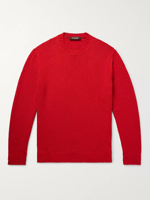 Loro Piana Slim-Fit Textured Cotton Sweater