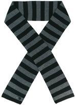 Saint Laurent collegiate striped skinny scarf - men - Cashmere - One Size