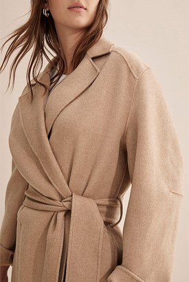 Country Road Wool Wrap Coat