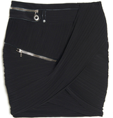 Anthony Vaccarello Fitted Zipper Skirt