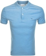 Lacoste Two Tone Polo T Shirt Blue