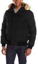 Levi's Men's Shorty Snorkel Quilted Hoody Bomber