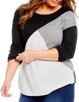 Westbound Plus Circle Hem Sweater