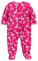 Little Me Infant Girls' Dalmation Print Footie - Sizes 12-24 Months