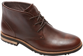 Rockport Ledgehill Leather Lace Up Boots, Brown