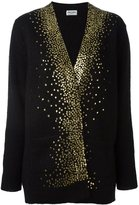 Saint Laurent milky way v-neck cardigan