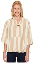 Woolrich Standing Wave Eco Rich Poncho Women's Sweater