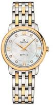 Omega De Ville Prestige Quartz Mother of Pearl Watch
