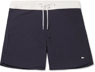 Pilgrim Surf + Supply Dorry Slim-Fit Mid-Length Swim Shorts