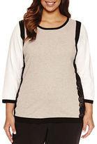 Liz Claiborne Pullover Sweater-Plus