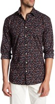 Lindbergh Floral Long Sleeve Regular Fit Shirt