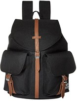 Herschel Dawson X-Small (Black/Tan Synthetic Leather) Bags