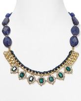 Lydell NYC Faceted Bead & amp; Jewel Chain Necklace