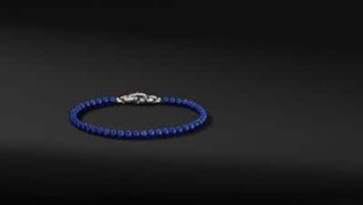 David Yurman Spiritual Beads Bracelet With Lapis