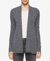 Calvin Klein Jeans Marled Open-Front Cardigan