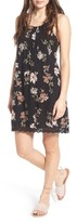 Angie Women's Floral Print Strappy Back Dress