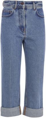 Philosophy di Lorenzo Serafini Regular Fit Cropped Jeans