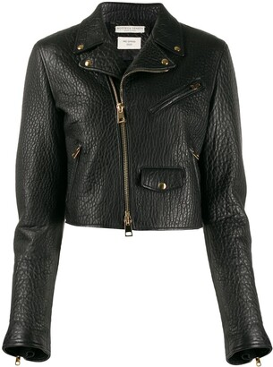 Bottega Veneta Cropped Biker Jacket