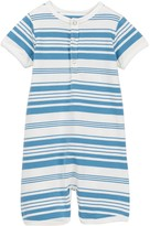 Toobydoo Oscar Striped Shortie Jumpsuit (Baby Boys)