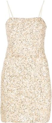 retrofete Heather sequinned mini dress